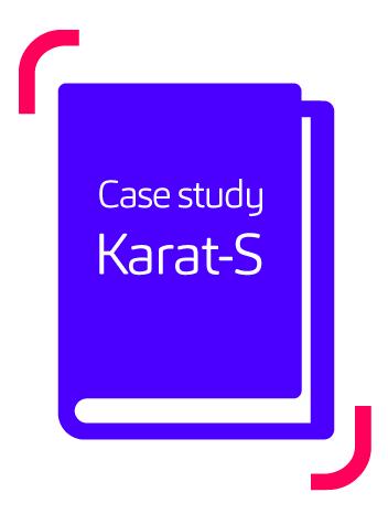 Karat-S case study